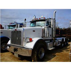 2008 PETERBILT 367 TRUCK TRACTOR, VIN/SN:1XPTDBEX18D754398 - TRI-AXLE, 475 HP C15 CAT ENGINE, 18 SPE