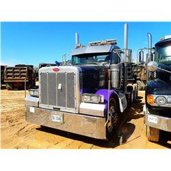 2001 PETERBILT 379 TRUCK TRACTOR, VIN/SN:1NP5DB9X61D558816 - TRI-AXLE, 500 HP CAT DIESEL ENGINE, 10