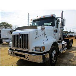 2015 INTERNATIONAL 5900i TRUCK TRACTOR, VIN/SN:3HSXYSNT1FN731209 - T/A, NAVISTAR ENGINE, 10 SPEED TR