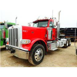 2014 PETERBILT 389K TRUCK TRACTOR; VIN/SN:1NPXGGGG80D225175 -GLIDER KIT, -T/A, 435 HP CAT C15 ENGINE
