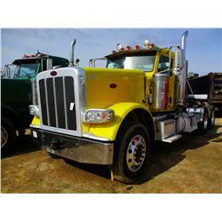 2014 PETERBILT 389K TRUCK TRACTOR; VIN/SN:1NPXGGGG50D225053 -GLIDER KIT, 550HP CAT C15 ENGINE (6NZ),
