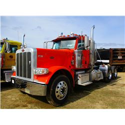 2014 PETERBILT 389K TRUCK TRACTOR; VIN/SN:1NPXGGGG60D225174 -GLIDER KIT, T/A, 475 HP CAT C15 ENGINE