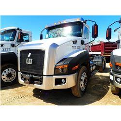 2012 CAT CT660S TRUCK TRACTOR, VIN/SN:1HSJGTKR0CJ060850 - T/A CAT C13 ENGINE, 10 SPD, 40K REARS, 13,