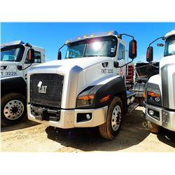 2012 CAT CT660S TRUCK TRACTOR, VIN/SN:1HSJGTKR3CJ060857 T/A CAT C13 ENGINE, 10 SPD, 40K REARS, 13,20