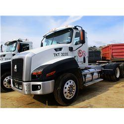 2012 CAT CT660S TRUCK TRACTOR, VIN/SN:1HSJGTKRXCJ672294 T/A CAT C13 ENGINE, 10 SPD, 40K REARS, 13,20