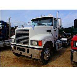 2013 MACK CHU613 TRUCK TRACTOR, VIN/SN:1M2AN07Y1DM014131 - T/A, 445 HP MACK MP8 ENGINE, MACK T313 13