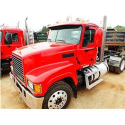 2013 MACK CHU613 TRUCK TRACTOR, VIN/SN:1M1AN07Y6DM015053 - T/A, 445 HP MACK MP8 ENGINE, MACK M DRIVE
