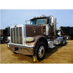 2010 PETERBILT 388 TRUCK TRACTOR; VIN/SN:1XPWDU9X4AD106997 -T/A, CAT C13 ENGINE, 10 SPEED TRANS, 40K