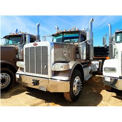2010 PETERBILT 388 TRUCK TRACTOR; VIN/SN:1XPWDU9X8AD106999 -T/A, 470 HP CAT C13 ENGINE, 10 SPEED TRA