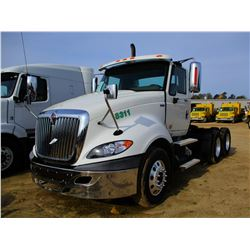 2013 INTERNATIONAL PROSTAR TRUCK TRACTOR, VIN/SN:1HSDJSJR3DJ307242 - T/A, MAXXFORCE ENGINE, 10 SPEED