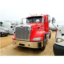 2012 PETERBILT 387 TRUCK TRACTOR, VIN/SN:1XPVDP9X6CD166067 - T/A, 455 HP PACCAR MX ENGINE, 10 SPEED