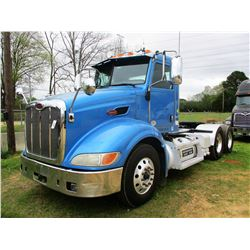 2011 PETERBILT 384 TRUCK TRACTOR, VIN/SN:1XPVD49X9BD121959 - T/A, 455HP ISX11.9 ENGINE, 10 SPEED TRA