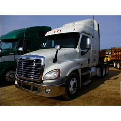 2012 FREIGHTLINER CASCADIA TRUCK TRACTOR, VIN/SN:1FUJGLBG4CLBF6130 - T/A, 450 HP CUMMINS ISX15 ENGIN