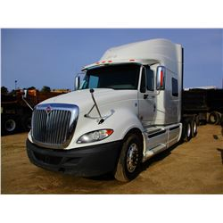 2012 INTERNATIONAL PRO STAR PLUS TRUCK TRACTOR, VIN/SN:3HSDJSJR9CN582965 - IHC DIESEL ENGINE, A/T, 4