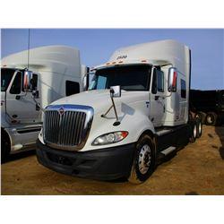 2012 INTERNATIONAL PRO STAR PLUS TRUCK TRACTOR, VIN/SN:3HSDJSJR0CN582966 - IHC DIESEL ENGINE, A/T, 4