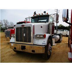 2012 PETERBILT 367 TRUCK TRACTOR, VIN/SN:1XPTD40X1CD146571 - T/A, 485 HP ISX CUMMINS ENGINE, 10 SPEE