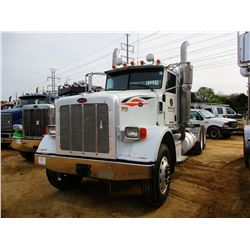 2008 PETERBILT 367 TRUCK TRACTOR; VIN/SN:1XPTD49X68D756749 -T/A, 500 HP CUMMINS ISX ENGINE, 10 SPEED