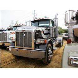 2008 PETERBILT 367 TRUCK TRACTOR, VIN/SN:1XPTD49X88D765422 - T/A, CUMMINS ENGINE, 10 SPEED TRANS, 40