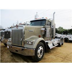 2007 KENWORTH W900 TRUCK TRACTOR; VIN/SN:1XKWD49X37J192500 -T/A, 475 HP CUMMINS ISX ENGINE, 10 SPEED