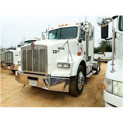 2005 KENWORTH T800 TRUCK TRACTOR, VIN/SN:1XKDDU9X85J091571 - T/A, CAT C13 DIESEL ENGINE, 10 SPEED TR
