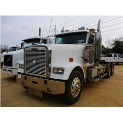 2007 FREIGHTLINER CLASSIC XL TRUCK TRACTOR, VIN/SN:1FUJAPCK37DY22956 - T/A, 515 HP S60 DETRIOT DIESE