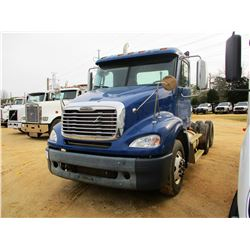 2007 FREIGHTLINER COLUMBIA TRUCK TRACTOR, VIN/SN:1FUJF0CV47LY88540 - T/A, 460HP MERCEDES DIESEL ENGI