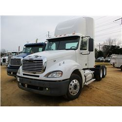 2007 FREIGHTLINER 120 TRUCK TRACTOR, VIN/SN:1FUJAGCK57LY11330 - T/A, S60 DETROIT DIESEL ENGINE, 10 S