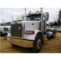 2012 PETERBILT 367 TRUCK TRACTOR, VIN/SN:1XPTD40X0CD146545 - T/A, ISX15 485 HP CUMMINS ENGINE, 10 SP