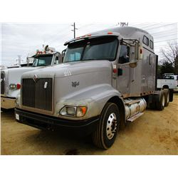 2007 INTERNATIONAL 9200i TRUCK TRACTOR, VIN/SN:2HSCEAPR07C522517 - T/A, 10 SPEED TRANS, 401K REARS,