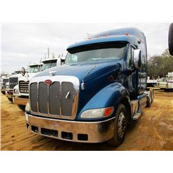 2007 PETERBILT 387 TRUCK TRACTOR, VIN/SN:1XP7DB9X47D740344 - T/A, CAT ENGINE, 10 SPD TRANS, 36K REAR