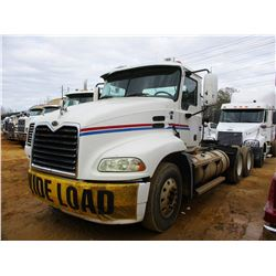 2004 MACK VISION CX613 TRUCK TRACTOR, VIN/SN:1M1AE06YX4N018999 - T/A, MACK DIESEL ENGINE, 10 SPEED T