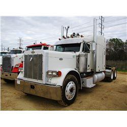 1999 PETERBILT 379 TRUCK TRACTOR, VIN/SN:1XP5DB9X1XD456158 - T/A, 475HP CAT DIESEL ENGINE, 10 SPEED