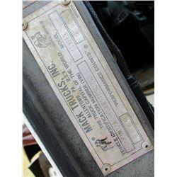 1999 MACK CH613 TRUCK TRACTOR, VIN/SN:1M1AA13Y5XW110302 - T/A, MACK DIESEL ENGINE, 9 SPEED TRANS, 38