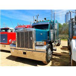 1998 PETERBILT 379 TRUCK TRACTOR, VIN/SN:1XP5DB9X0WD462998 - T/A, 475HP 3406 CAT ENGINE, 8LL TRANS,