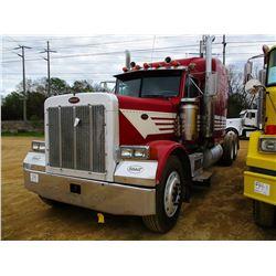 1994 PETERBILT 379 TRUCK TRACTOR, VIN/SN:1XP5DR9X2RD341130 - T/A, CAT DIESEL ENGINE, 10 SPEED TRANS,