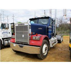 1989 FREIGHTLINER TRUCK TRACTOR, VIN/SN:1FUP2SYB7KP366714 - CAT DIESEL ENGINE, 9 SPEED TRANS, AIR RI