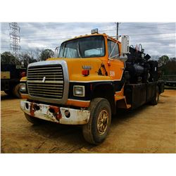 FORD 8000 FUEL & LUBE, VIN/SN:1FTYR82AXHVA45202 - FORD DIESEL ENGINE, 5 SPEED TRANS, FLATBED BODY, P