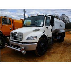 2012 FREIGHTLINER M2 WATER TRUCK, VIN/SN:1FVACXDT5CHBS7686 - S/A, CUMMINS DIESEL ENGINE, 6 SPEED TRA