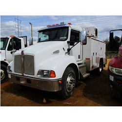 2008 KENWORTH T300 MEACHNAICS TRUCK, VIN/SN:2NKMHM6X28M221974 - PACECAR PX-6 ENGINE, 6 SPEED TRANS,