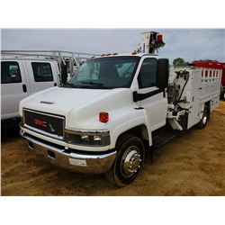 2009 GMC C5500 TIRE TRUCK, VIN/SN:1GDE5C1939F402557 - DURAMAX DIESEL ENGINE, A/T, TIRE BODY W/LIFT C
