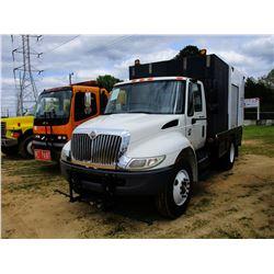 2007 INTERNATIONAL 4300 SEWER TRUCK, VIN/SN:1HTMMAAR77H449764 - IHC DIELSE ENGINE, A/T, 14' FLATBED
