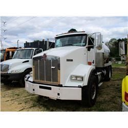 2010 KENWORTH T800 SEWER RODDER TRUCK, VIN/SN:1NKDH58X8AJ266613 - S/A, CUMMINS DIESEL ENGINE, ALLSIO