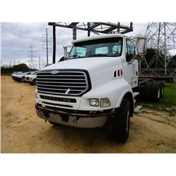 2004 STERLING CAB & CHASSIS, VIN/SN:2FZHAZCU04AM56301 - T/A, MERCEDES BENZ DIESEL ENGINE, A/T, 46K R