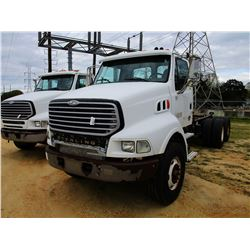 2004 STERLING CAB & CHASSIS, VIN/SN:2FZHAZCU24AM56302 - T/A, MERCEDES BENZ DIESEL ENGINE, A/T, 46K R
