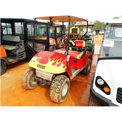 EZ GO GOLF CART, VIN/SN:1135524 - ELECTRIC W/CHARGER (CHARGER IN SECURITY OFFICE)