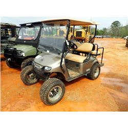 EZ GO TXT48 GOLF CART, VIN/SN:3074645 - ELECTRIC, TOP, WINDSHIELD, REAR SEAT