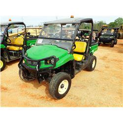 JOHN DEERE XUV ATV, VIN/SN:BM010815 - GAS ENGINE, CANOPY
