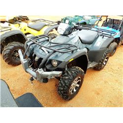 2011 TOMBERLIN 600 ATV, VIN/SN:LL8AATSZ5B0A00034 - 4X4