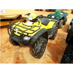 2005 HONDA TRX 500 ATV