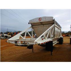 2011 RANCO BELLY DUMP TRAILER, VIN/SN:1D9SD4025BR661167 - T/A, 40' LENGTH, 21 YD CAP, 11R24.5 TIRES,